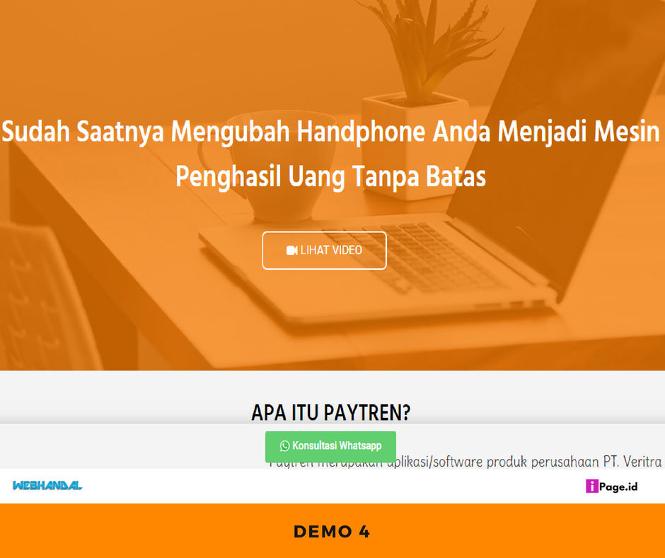 landing page paytre 3